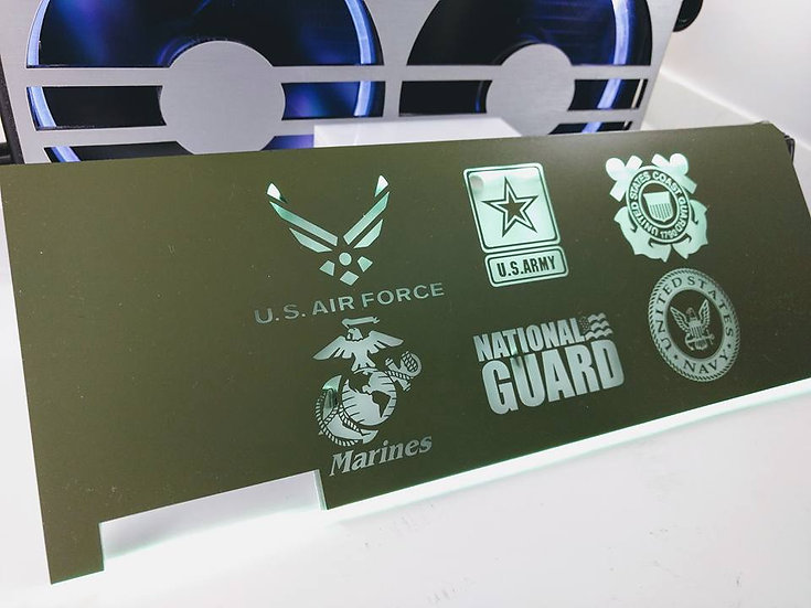 Armed Forces  Themed RGB Backplate