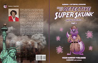 Tales of Detective Super Skunk takes on COVID-19.  The super hero that comes to aid America in the fight against coronavirus.  Introduces hand washing and fermentation. A STEAM book for kids and family.
