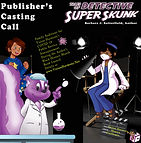 Monica Guillemin is directing a Public Service Announcement aimed to encourage COVID 19 vacinnations.  Detective Super Skunk will assist in this important PSA for vaccines to fight coronavirus.