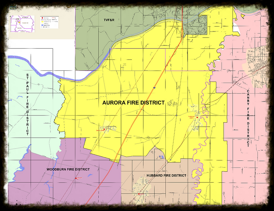 Aurora Fire District District Map