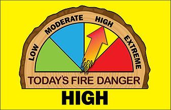 Fire Danger HIGH