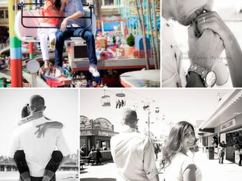 Denise & Abe | Engagement | Santa Cruz