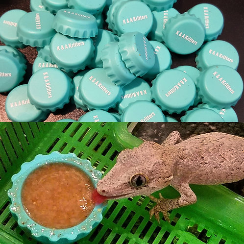 Small Silicone Cap Feeders