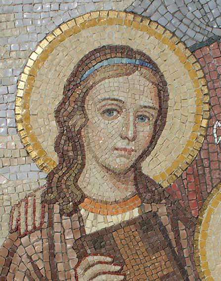 мозаичное панно / фрагмент