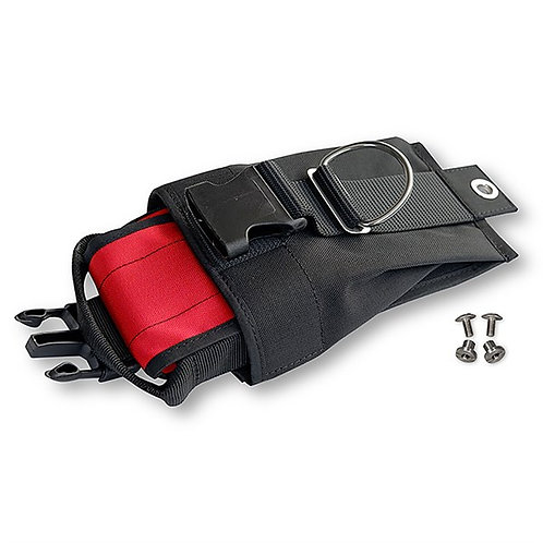 Weighting system for backplate RED inner pockets