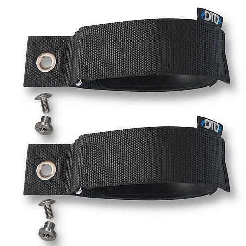 Argon straps 1,5L to 2L tank