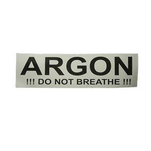 Argon sticker
