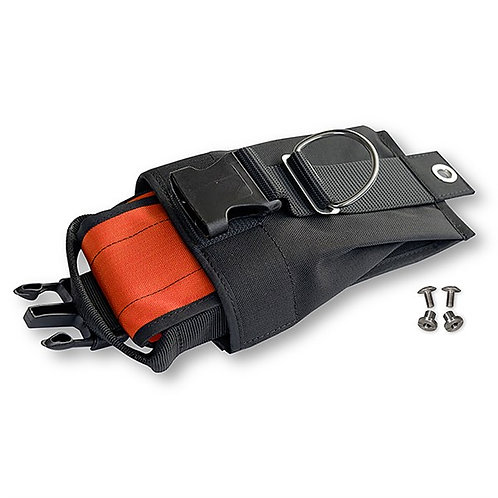 Weighting system for backplate Orange inner pockets