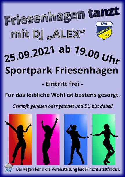 """Am 25.09. """"tanzt Friesenhagen"""""""