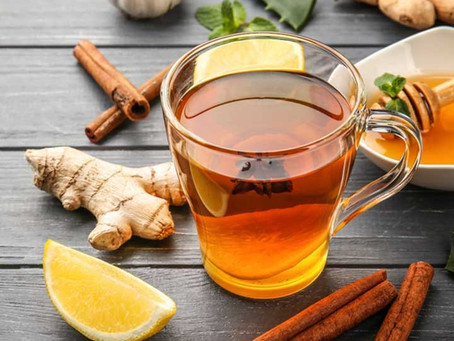 Benefits Of Drinking Ginger With Honey & Lemon Tea