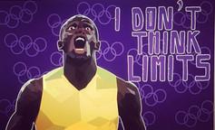 Usain Bolt Editorial illustration