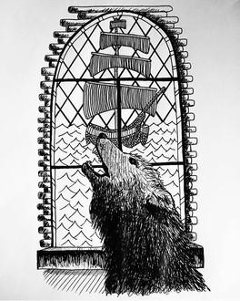 Dracula illustration (Bram Stoker)