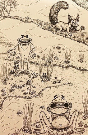 Bully Frogs