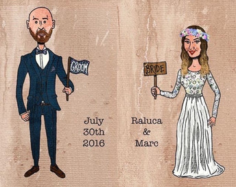 My Wedding illustration