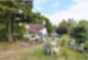 Bridge Cottage Tearooms Garden