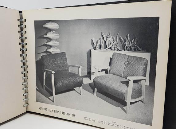 Stylized Furniture By Metropolitan - 1951 Furniture Catalogue
