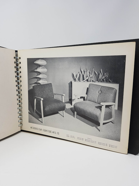 Stylized Furniture By Metropolitan - 1951 Furniture Catalogue