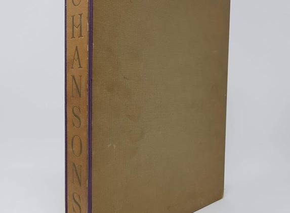 Chansons de Salles de Garde, illustrated by Joseph Hémard