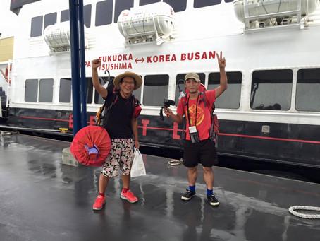 チャンゴウォーク2015 Part8 大阪~博多~釜山(船の旅)