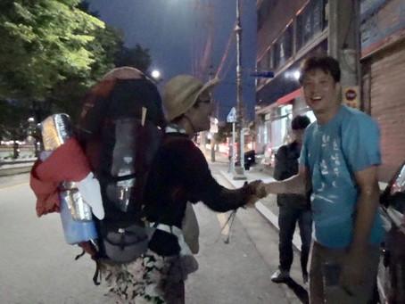 チャンゴウォーク2015 Part11 清道~大邱へ