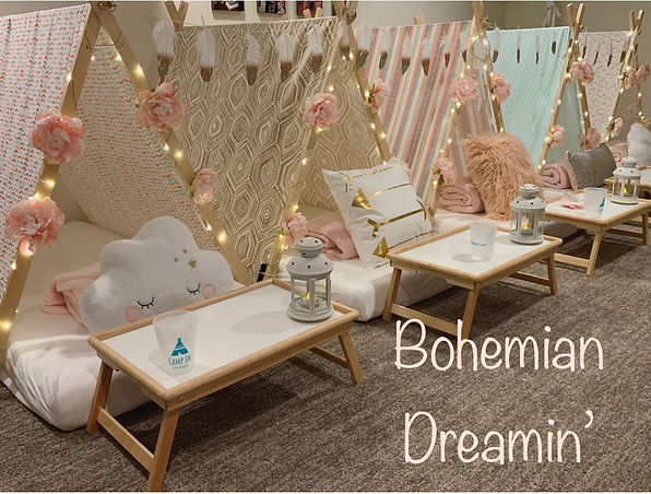 Bohemian Dreamin Slumber Party