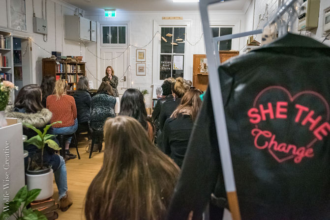 She The Change Event Newcastle
