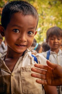School boy - Central Cambodia