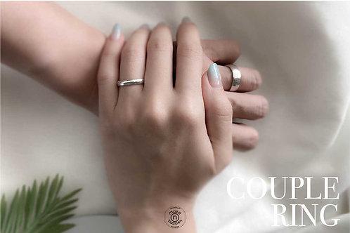 Sterling Silver Couple Ring (แหวนคู่)