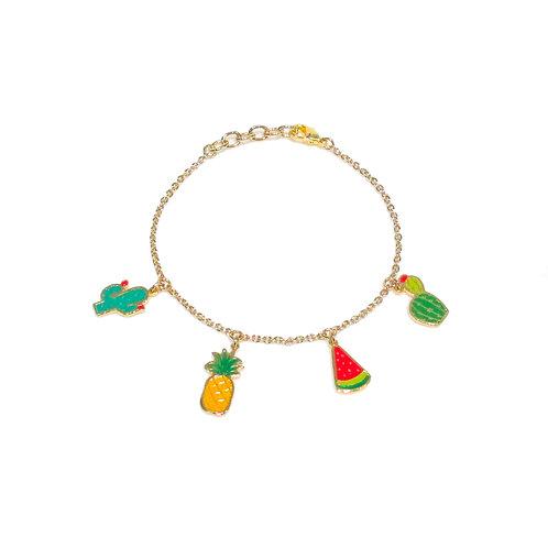Summer Set Bracelet (เซทข้อมือ 4 จี้ ซัมเมอร์)