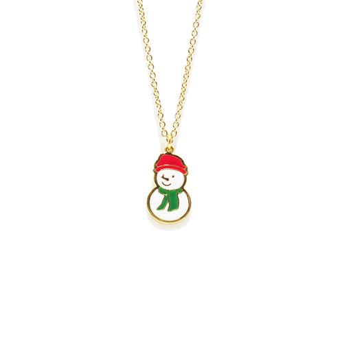 Snowman Necklace (สร้อยคอสโนว์แมน)