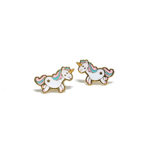 Unicorn Clip Earring