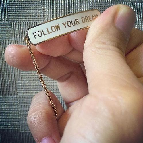 Follow your dream bracelet (ข้อมือ Follow your dream)