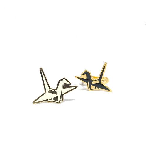 Origami Bird Earring (ต่างหูนก)