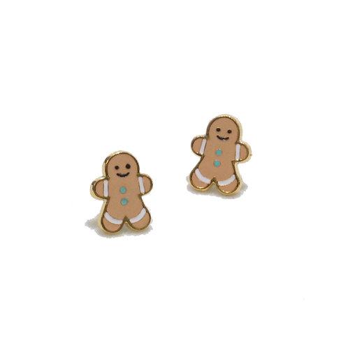 Gingerbread Earring (ต่างหูขนมผิง)