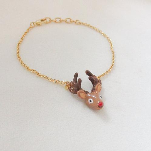 Reindeer Bracelet / Necklace (สร้อยคอ/ข้อมือกวางเรนเดียร์)
