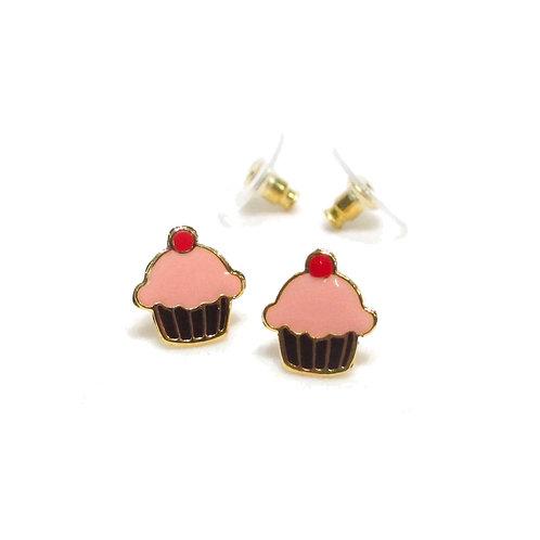 Sweet Addict - Teatime Cupcake Earring (ต่างหูคัพเค้ก)