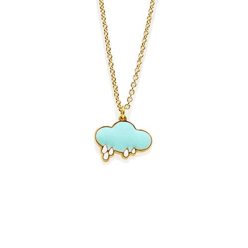 Unicorn and Fairy Tale - Rainy Necklace (สร้อยคอ เมฆ)