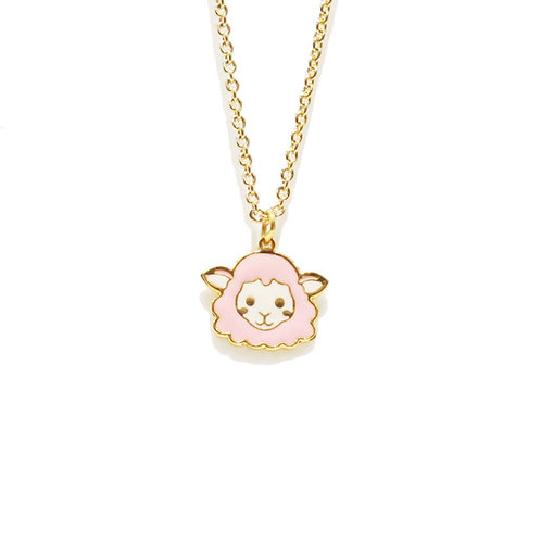 Farm Sheep Necklace