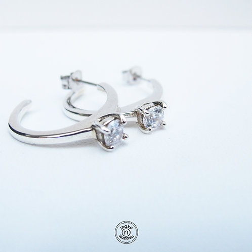 Love Ring Earring S925