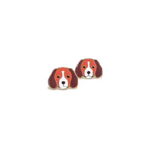 Gubjung & Friends Beagle earring (ต่างหูบีเกิล)