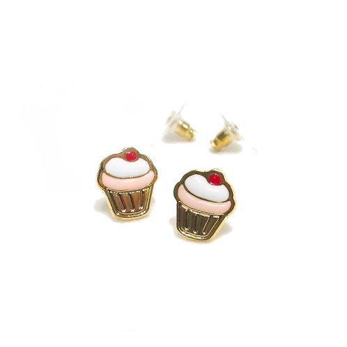 Sweet Addict - Cupcake Earring (ต่างหูเค้ก)
