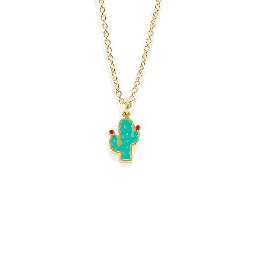 Summer - Cactus Necklace (สร้อยคอ กระบองเพชร)