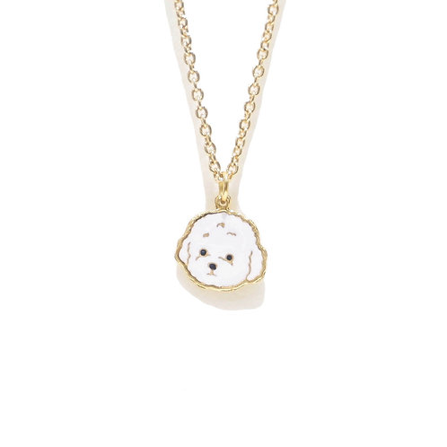 Gubjung & Friends - Poodle Necklace (สร้อยคอจี้พุดเดิ้ล)