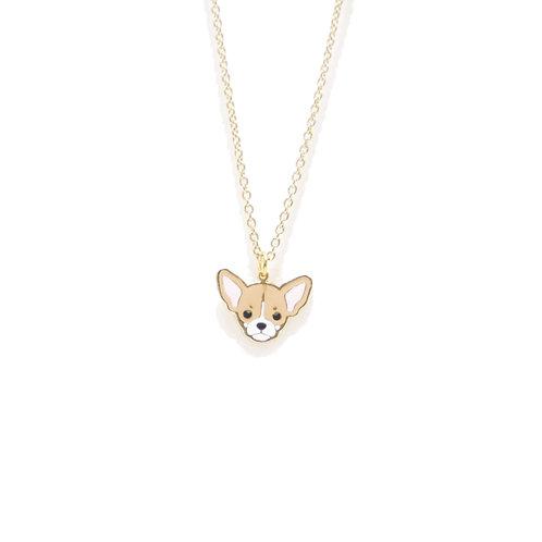 Gubjung & Friends - Chihuahua Necklace (สร้อยคอจี้ชิวาวา)