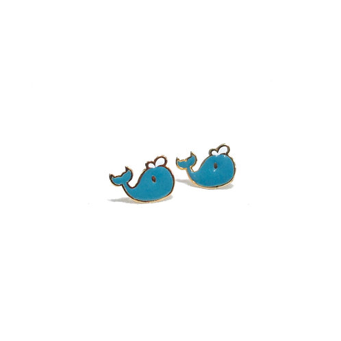 Whale Earring (ต่างหูปลาวาฬ)