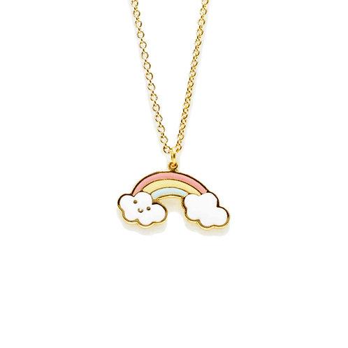 Unicorn and Fairy Tale - Rainbow Necklace
