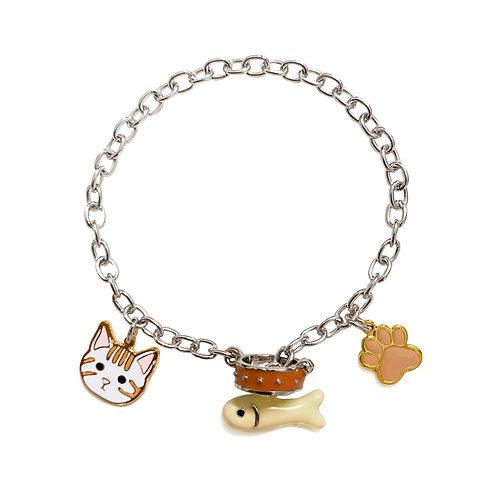 Gubjung & Friends Kitten bracelet