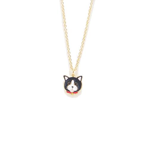 Gubjung & Friends - Gubjung & Friends - Michael Cat Necklace (สร้อยคอแมวหน้ากาก)