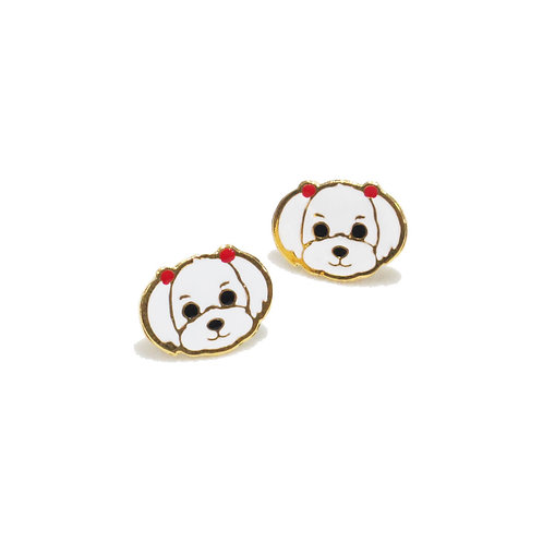 Gubjung & Friends Maltese earring