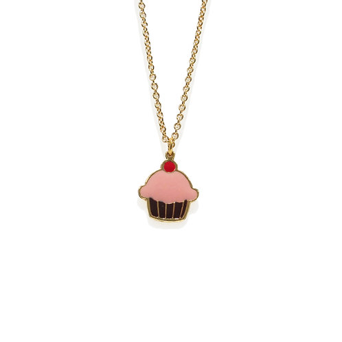 Sweet Addicted - Cupcake Necklace (สร้อยคอ คัพเค้ก)